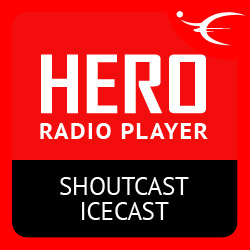 Hero Radio Player ShoutCast IceCast - jQuery